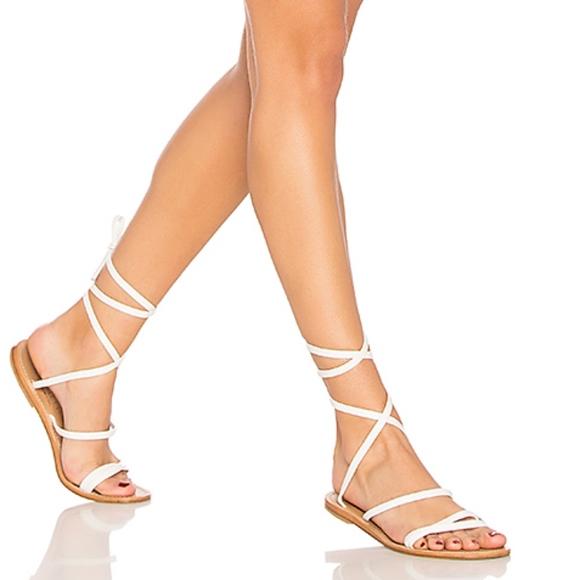 b3645f115e92 cornetti Shoes - CORNETTI Caruso Ankle Wrap Sandal in White